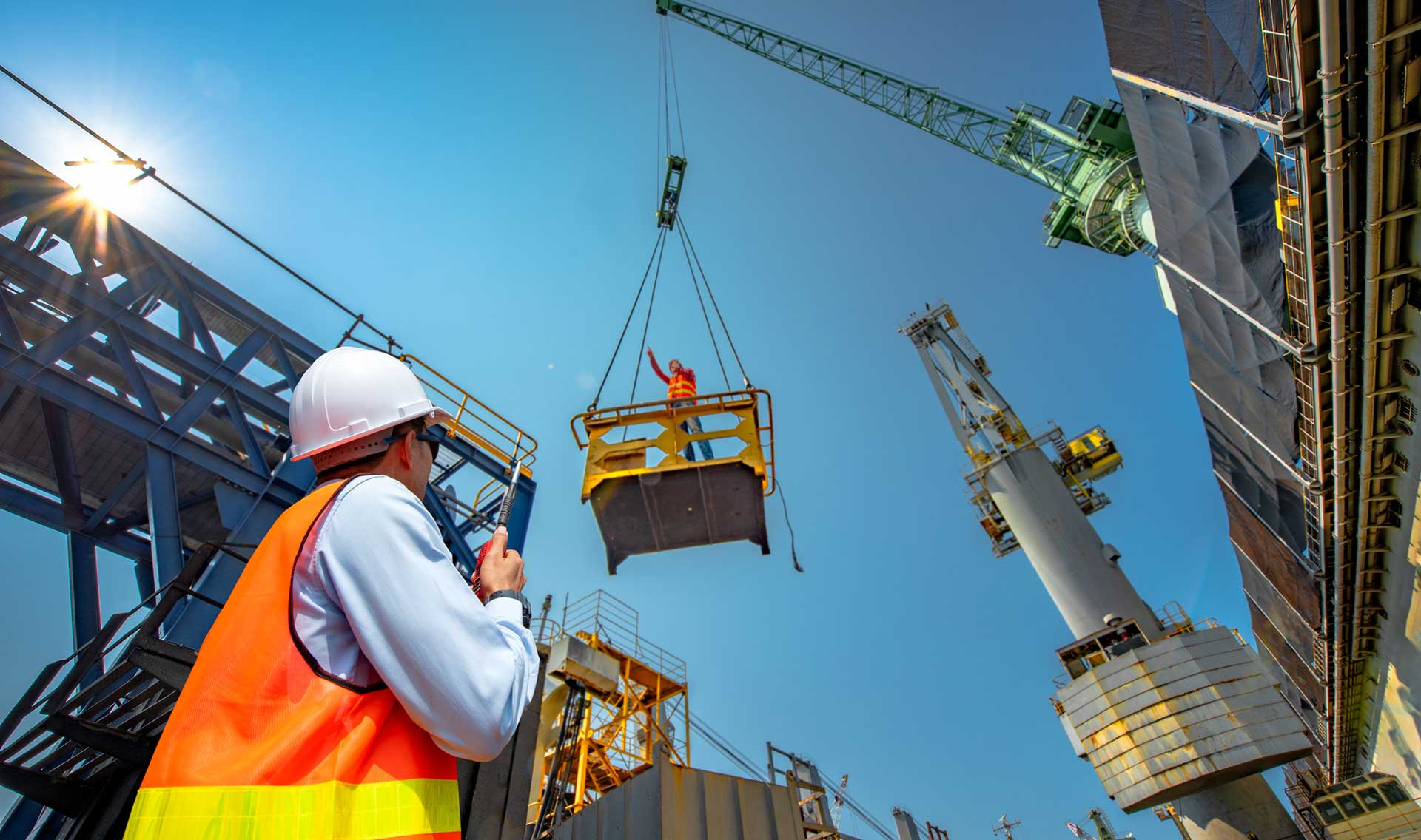 Lifting services - BLF Solutions