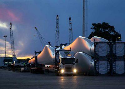 Transporte de cargas terrestres
